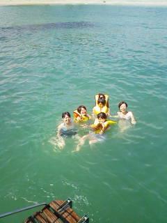 女子大生水泳