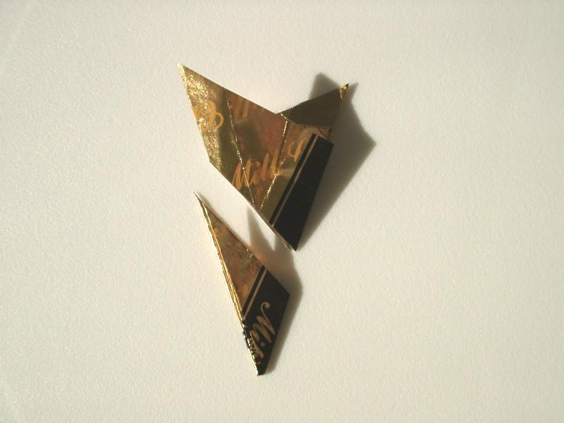 すべての折り紙 星の作り方 折り紙 : ... 星の作り方。折り紙・切り紙
