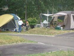 キャンプサイトの図