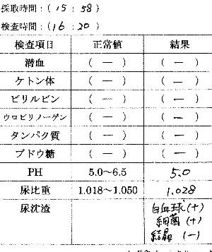 尿検査080809-0