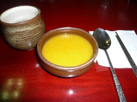 *かぼちゃのスープ*