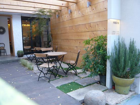 *ケーブルカー乗り場の近くの喫茶店*