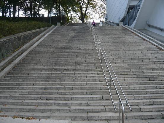*サムスンの階段*