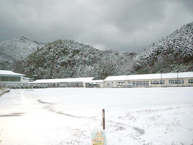 2009年元日の弥富中学校