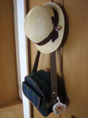 帽子とカバン