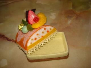 オレンジドームケーキ②