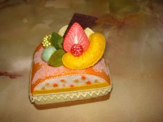 オレンジドームケーキ①