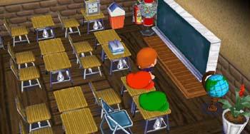 完成した教室