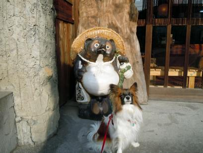 長瀞はワンコに優しい街でした10