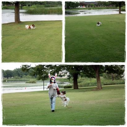 久しぶりの公園でハジける♪2