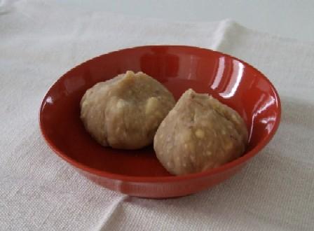 栗の茶巾絞り 1皿