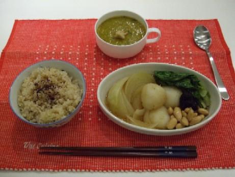 初めてのマクロな夕飯