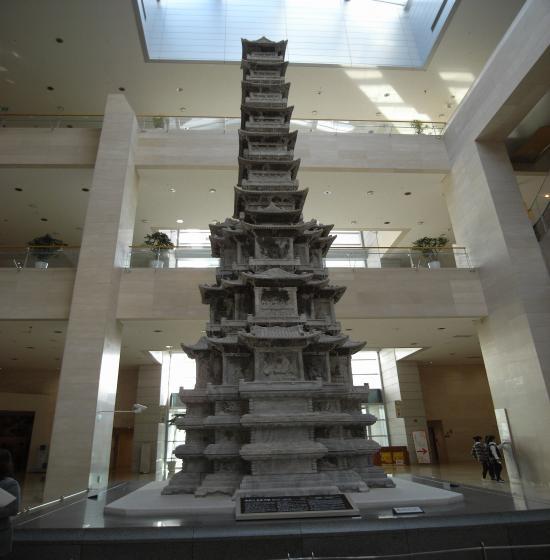 10層石塔