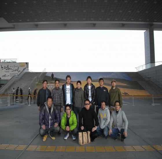 国立中央博物館前