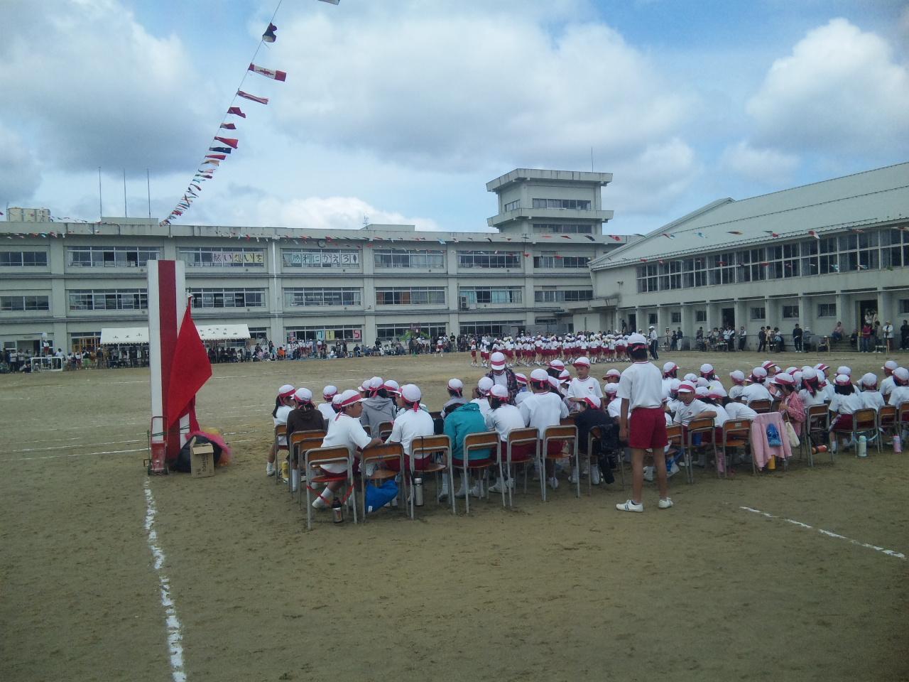 山王小学校運動会