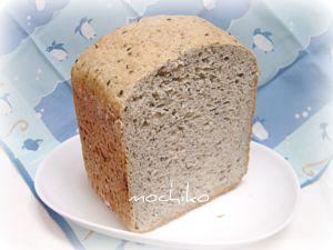 20110209ライ麦と黒ゴマのたっぷりパン 早焼き