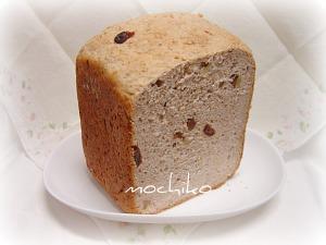 20110228オートミールとゴマとレーズンのパン 早焼き