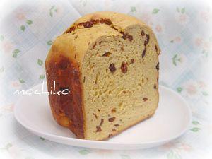 20110505人参と黒砂糖とレーズンのパン 早焼き