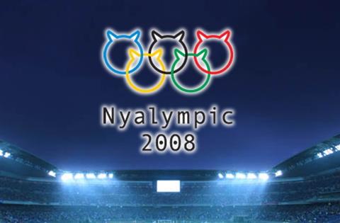 ニャリンピックタイトル