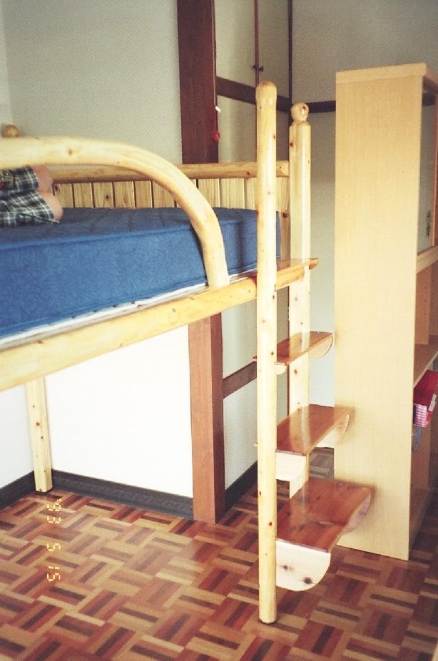 ベッド階段