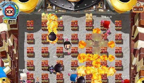 ボンバーマン オンラインゲーム
