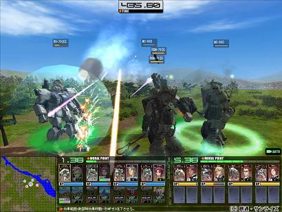 ガンダム タクティクス オンライン オンラインゲーム
