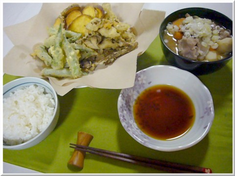 10月14日の夕食