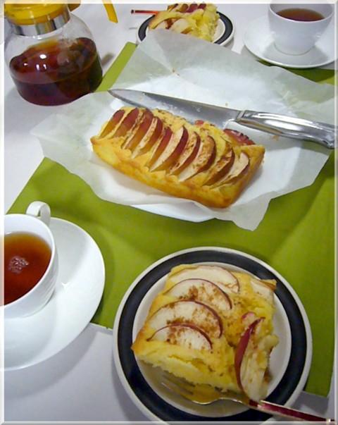 リンゴケーキ3