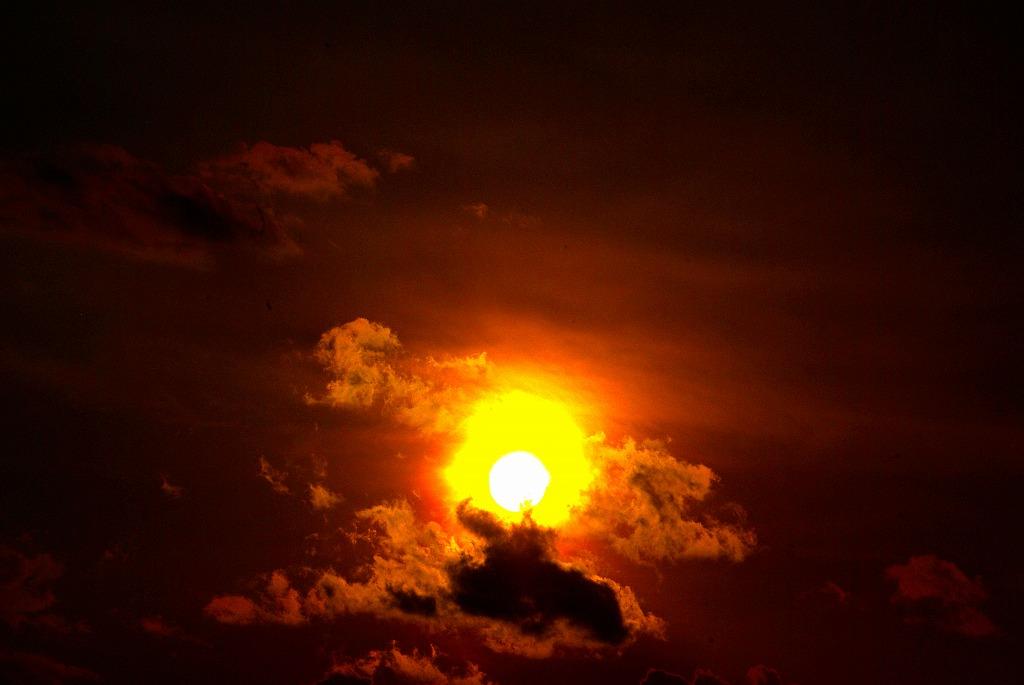 多摩川夕陽02