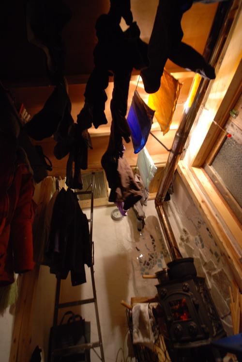 大量の洗濯