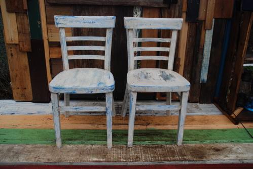 ジャンク椅子2個