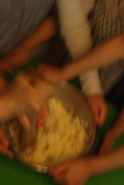 芋団子つき