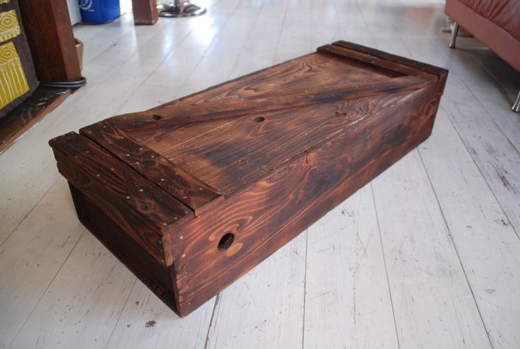 木の道具箱大