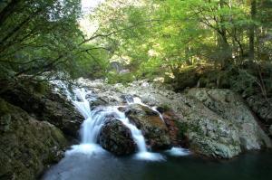 9三筋の滝