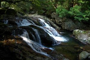 10河鹿の滝