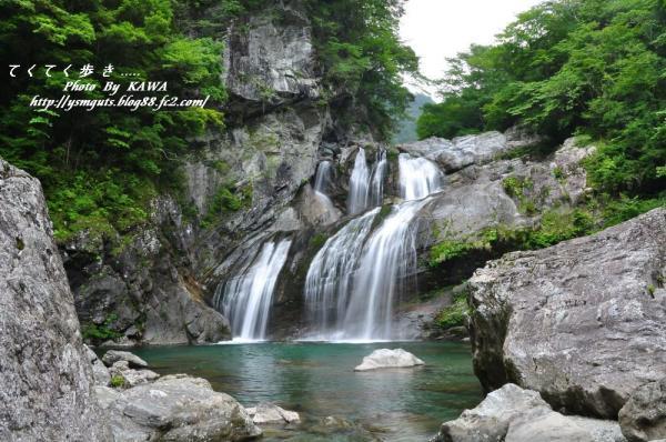 1アメガエリの滝09.06.14