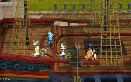 島へ 船の上 (2)
