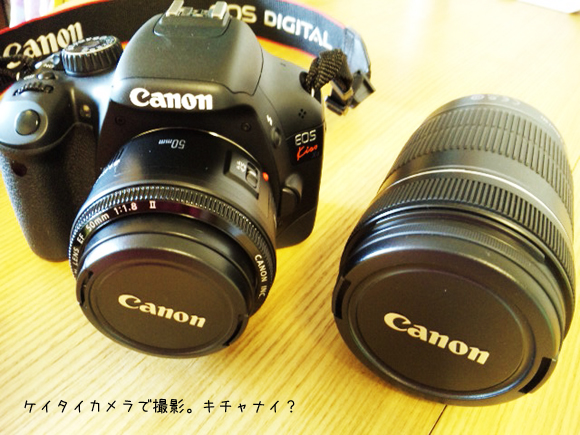 EF50mm単焦点レンズのコピー