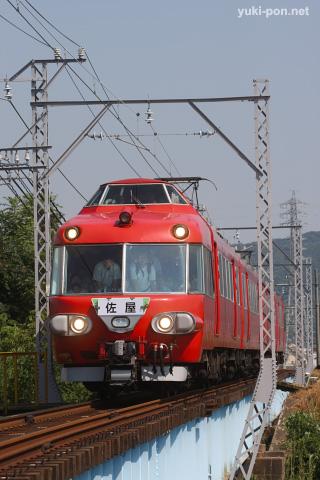名鉄7000系@福地~上横須賀