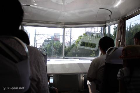 名鉄7000系@各務原線車内