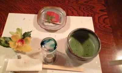 清風桜お抹茶