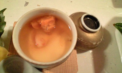 清風桜お料理 ウニの茶碗蒸し