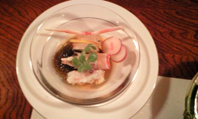 清風桜お料理2