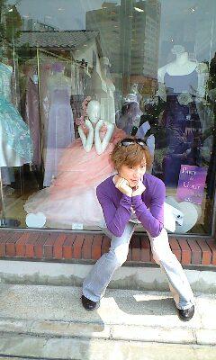 ハーバーランドウエディングドレス 真似1
