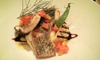 ラクロチェッタ 魚 黒鯛