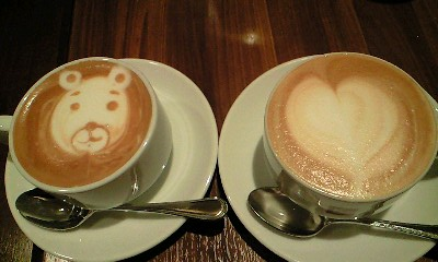 カフェオレ 可愛い