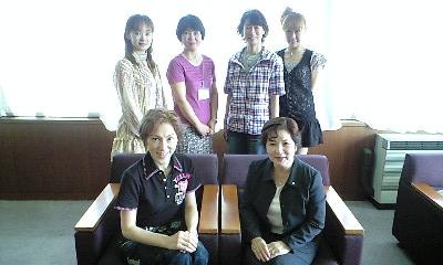 播磨町町長さんと4人