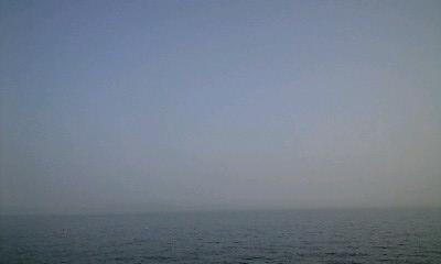 播磨の海 淡路島見える?