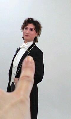 ポスター撮りあきぽん 指差し