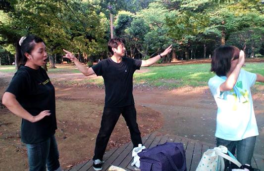 左から久子さん 近藤さん 悠吾